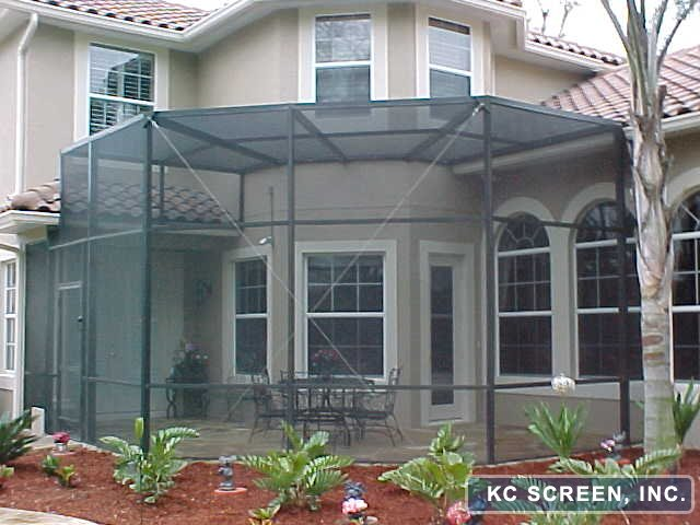 11cfb - DeLand Pool Screen Enclosures - Patio Screen Rooms - Aluminum