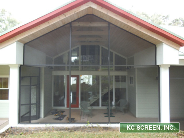 Porch Amp Frame In Kc Screen