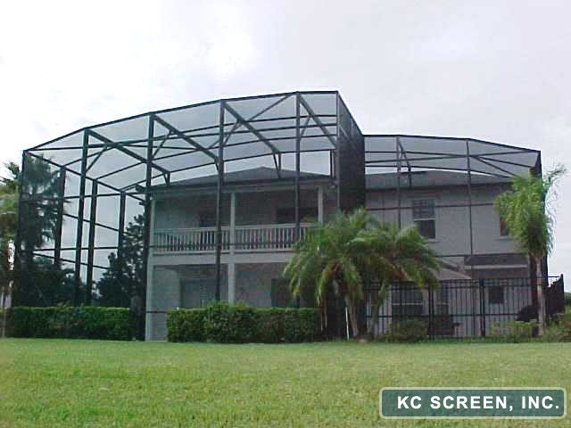 Aluminum Screen Enclosure by KC Screen