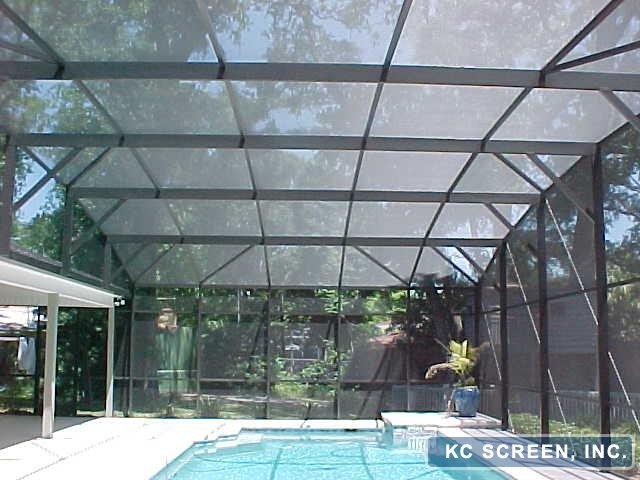 Osceola County Aluminum Screen Enclosures