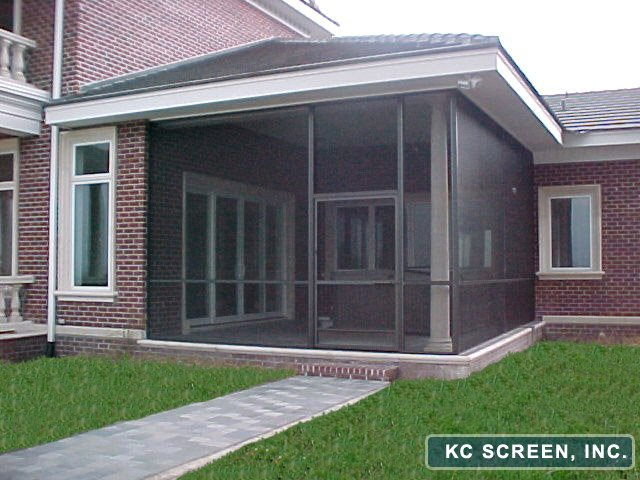 Central florida repairs re screens kc screen - Screen porch roof set ...