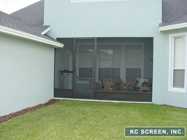 Porch Frame In Kc Screen