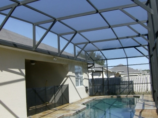 Orlando Aluminum Enclosure Pool Screen Kc Screen