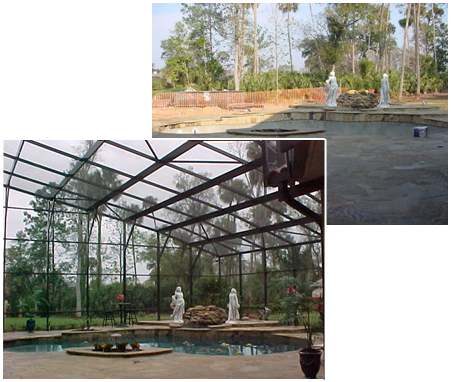Your Pool + Our Enclosure = Satisfied Customer